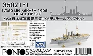 Pontos Model IJN Mikasa 1905 Detail up set 1/350 35021F1