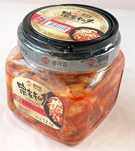 徳用宗家(チョンカ)キムチ(白菜キムチ)1.2kg要冷蔵