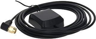Othmro Antena GPS activa compatible con Beidou SMA macho conector de antena con montaje magnético cable de 3 metros, 1 unidad