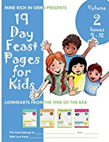 19 Day Feast Pages for Kids Volume 2 - Issues 09 - 12