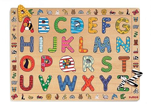 Djeco - DJ01800 - Puzzle - Educatif Abc
