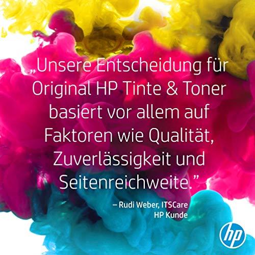 HP 125A 3er-Pack (CF373AM) Cyan/Magenta/Gelb Original Toner für HP Color Laserjet CP1215, CP1515, CM1312 & 128A (CE320A) Schwarz Original Toner für HP Laserjet Pro CP1525, HP Laserjet Pro M1415