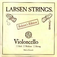 CUERDA VIOLONCELLO - Larsen (Soloist) (Acero) 1ェ Fuerte Cello 4/4 (La) A (Una Unidad)