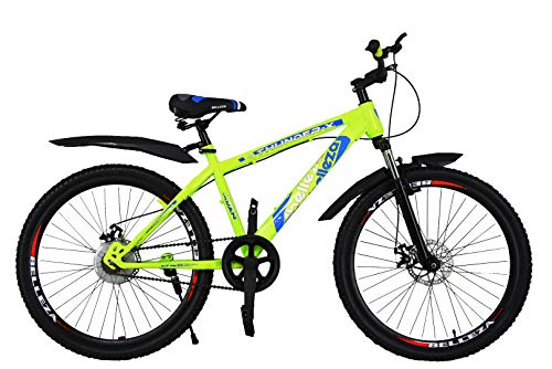 ORBIS CYCLES Thunder-X 26 Inches Single Speed Bike for Adults (Green)