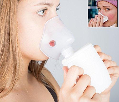 Heim & Büro Inhalator   zur Inhalation bei Erkältung und Husten   250 ml   kompakt   Bronchitis