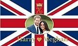 Royal Wedding Flag 5FT X 3FT