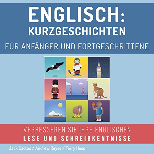 Englisch: Kurzgeschichten für Anfänger und Fortgeschrittene [English: Short stories for beginners and advanced] audiobook cover art