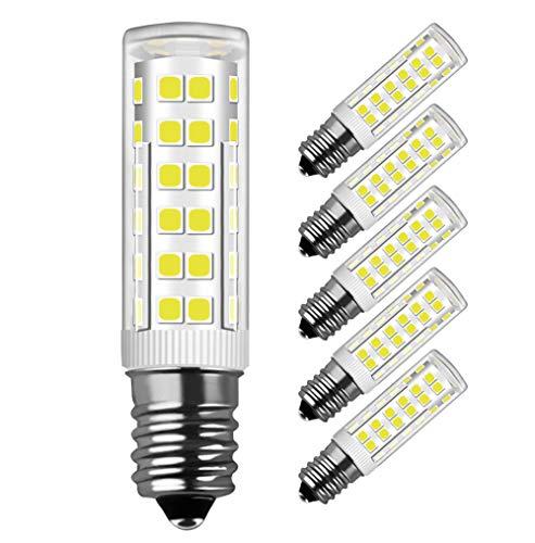 LED Lampe E14,MENTA, 7W Ersatz für 60W Halogen Lampen Kaltweiß 6000K, E14 LED Birnen 450lm AC220-240V, Globaler 360° Abstrahlwinkel, 5er Pack