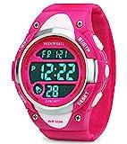 Digital montres pour filles cadeaux – Enfants Sports de plein air montre avec...