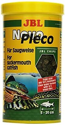 JBL NovoPleco 30312 Alleinfutter für kleine Saugwelse, Tabletten 1 l