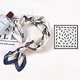 Pañuelo Cuadrado de Seda para Mujer, Pintura al óleo, Cuello de satén, Lazo para el Pelo, Banda para la Playa, Hijab, Fular para Mujer