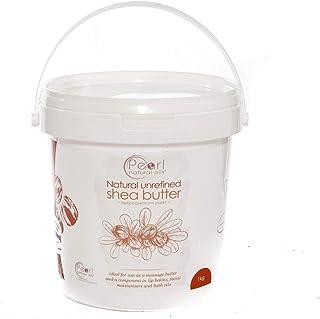 Manteca de karité cruda orgánica sin refinar 1 kg