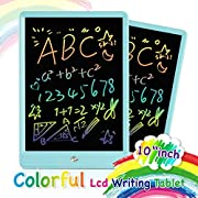 ORSEN Drawing Tablet 10 Inches LCD Writing Tablet,Magnetic Colorful Writing Sketching Pad Doodle Board Toy,Educational Kids Toys for Girls Boys Toddler Gift