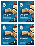 Gerber Graduates Cereal Bars STRAWBERRY BANANA - 5.5oz. (Pack of 4)