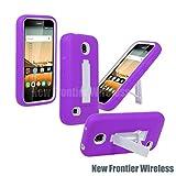 For HUAWEI Y538 Union Premium Rugged Heavy Duty Kickstand Phone Case (Purple)