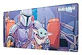 Alfombrilla ratón Star Wars - Alfombrilla gaming Mandalorian - Mousepad - Star Wars regalos / Alfombrilla XXL - Alfombrilla escritorio - Tapete escritorio - Alfombrilla ratón accesorio gamer
