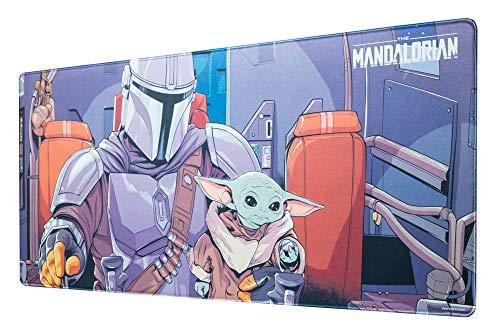 Grupo Erik - XL Mauspad Star Wars The Mandalorian - Gaming Mouspad Baby Yoda Grogu - Mauspad mit Motiv