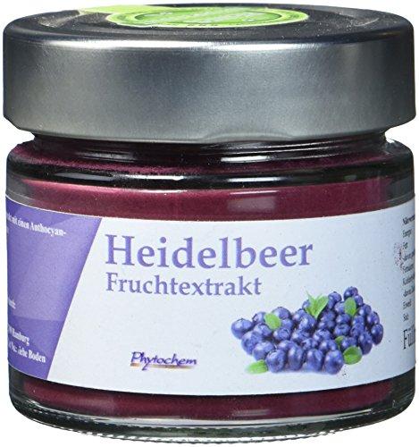HEIDELBEER EXTRAKT | reiner Heidelbeerextrakt mit 0,8{5f040645def0672122dd11bacc36e62144ab8183edc45b8c47b384da054a6a7d} Anthocyangehalt | 70 Gramm | Premium Qualität aus Deutschland