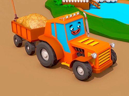 Großer Traktor