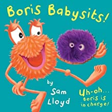 Boris Babysits: Cased Board Book with Puppet (sam lloyd Series)