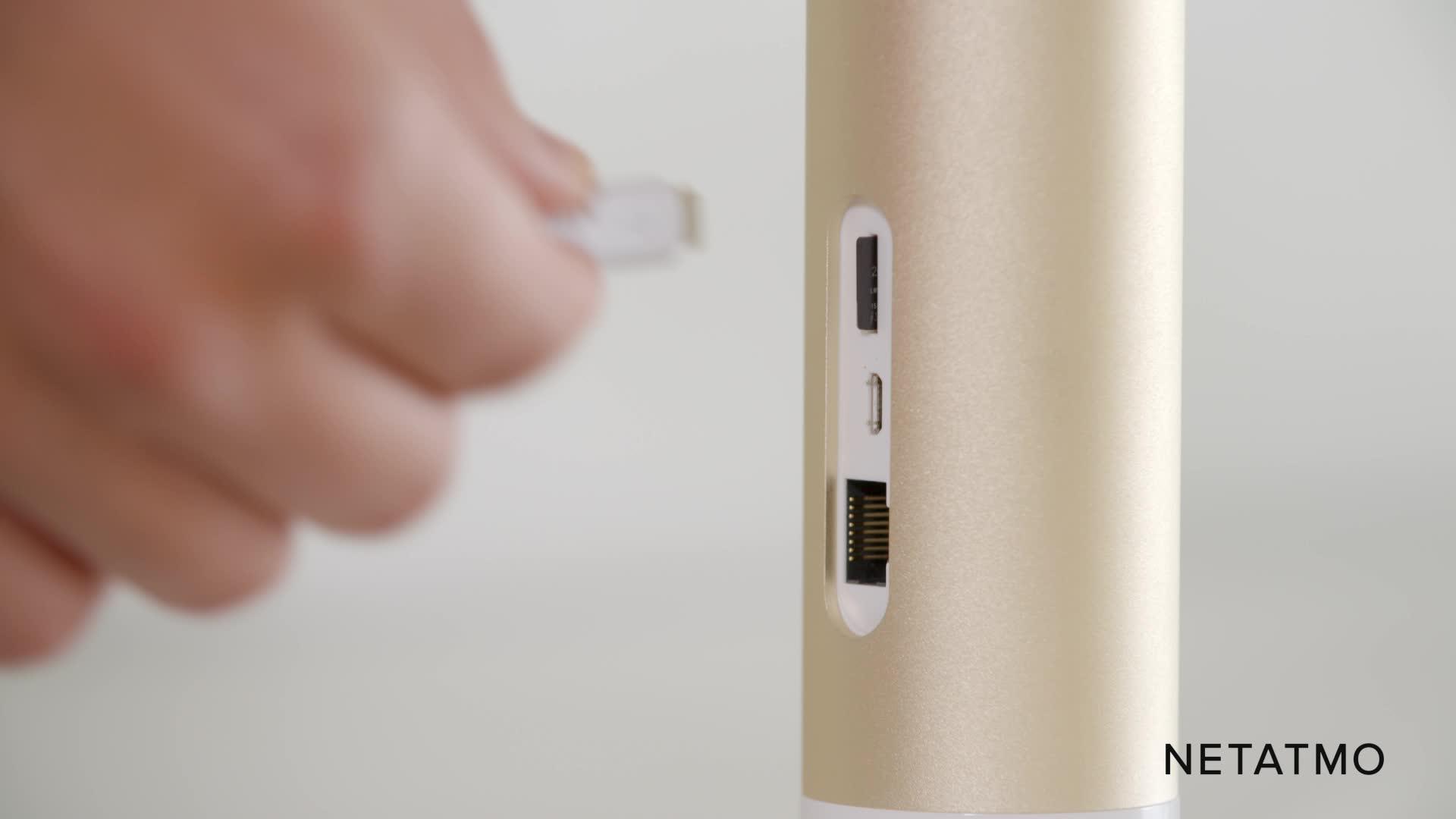 Netatmo Smarte Überwachungskamera Innen Wlan Bewegungserkennung Nachtsicht Ohne Abonnement Nsc01 Eu Welcome Baumarkt