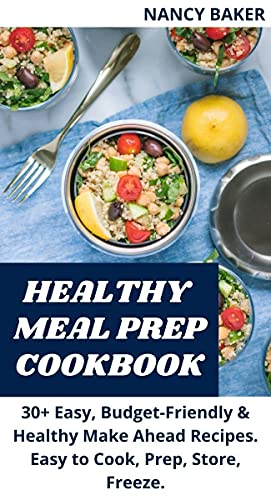 HEALTHY MEAL PREP COOKBOOK (English Edition)