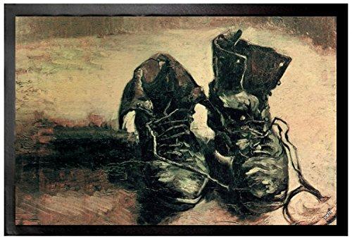 1art1 Vincent Van Gogh - Naturaleza Muerta Par De Zapatos, 1886 Felpudo Alfombra (60 x 40cm)