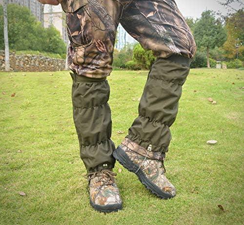 Adjustable Thicken Leg Gaiters 600D Oxford Snake Gaiters Waterproof Snow Boot Gaiters 16 5 Legging product image