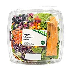 Fresh And Ready, Salad Vegan Chopped, 12.25 Ounce
