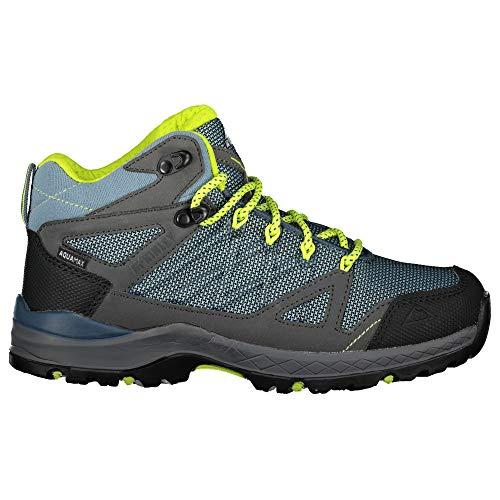 McKINLEY Unisex dziecięce buty trekkingowe Kona Mid Iv AQX, niebieski - Niebieski Blue Smoke Navy Gree 902-33 EU