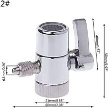 HUOGUOYIN Faucet Adapter Faucet Adapter Tap Valve Table Top Water Filter Faucet Diverter Valve Ro System 1/4