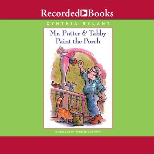 Mr. Putter and Tabby Paint the Porch audiobook cover art