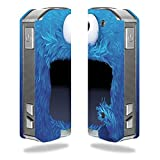 Decal Sticker Skin WRAP Blue Monster for Pioneer4you iPV Mini 2 70W