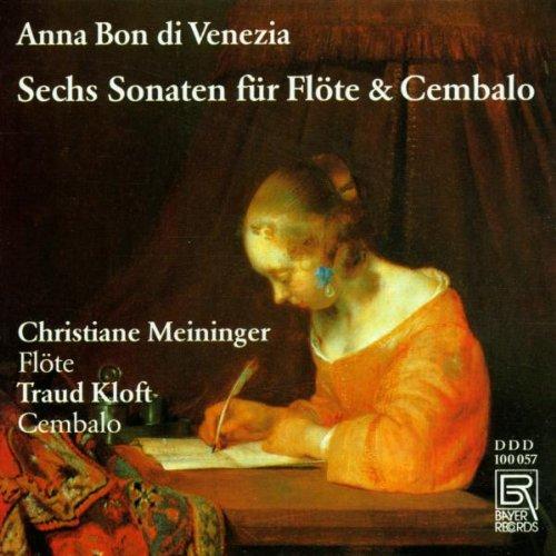 Sechs Sonaten für Flöte & Cembalo