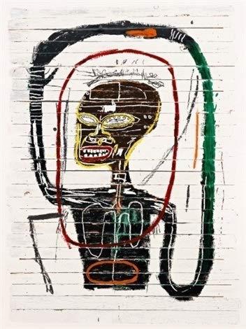 by burning desire par brûlant désir Rare Poster Jean-Michel Basquiat Flexible Reprint 12x18