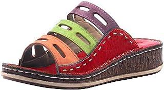 Jodimitty Badslippers voor dames en heren, slippers, slippers, slippers, uniseks, effen sandalen voor binnen en buiten, ro...