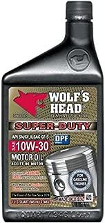 Wolf's Head Super Duty Motor Oil 10W-30-12QT case