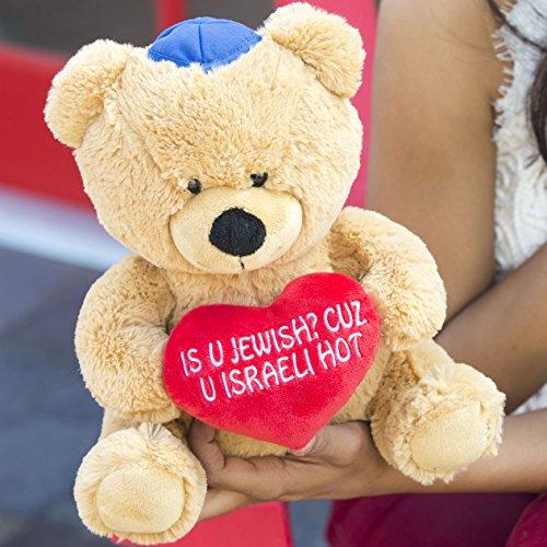 Hollabears 10' is U Jewish? Cuz U Israeli Hot Teddy Bear Plush