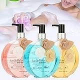 Shower Shampoo, Parfümiertes Duschgel, natürliches Parfum, feuchtigkeitsspendendes Bodyshampoo,...
