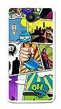 Tumundosmartphone Funda Gel TPU para BQ AQUARIS U/U Lite diseño Comic...