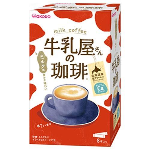 和光堂 牛乳屋さんの珈琲 (14g×8本)×12(4×3)箱入×(2ケース)