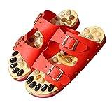 FLHLF Sandalias Antideslizantes para Pisos en Interiores y Exteriores,Zapatillas de pedicura con Suela de adoquín,Zapatillas de Playa con Fondo Suave y Antideslizantes, Medianas_37-38