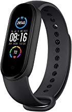 "(Renewed) Mi Smart Band 5-1.1"" AMOLED Color Display, Magnetic Charging, Personal Activity Intelligence (PAI), 2 Weeks Battery Life, 5ATM Water Resistant"