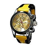 人気 ユニセックス(男女兼用)ウォッチ 革ベルト clubface腕時計 CF-1063