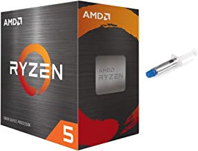AMD-Ryzen 5 5600X 4th Gen 6-core Desktop Processor with Wraith Stealth Cooler, 12-Threads Unlocked, 3.7 GHz Up to 4.6 GHz,...