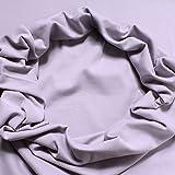 Stoff am Stück 0,5 Meter Baumwolle Elastan Bündchen