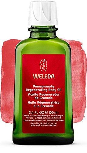 Aceite Corporal Regenerador de Granada - Weleda (100 ml) - Se envía con: muestra gratis y una tarjeta superbonita que puedes usar como marca-páginas!