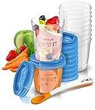 Avent Food Storage Cups (10 X 180ML; 10 X 240ML)