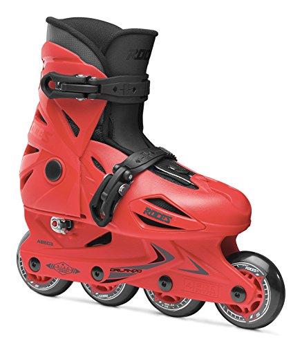 Roces Kinder Inliner Orlando III verstellbar, Größe 25-29, sport red