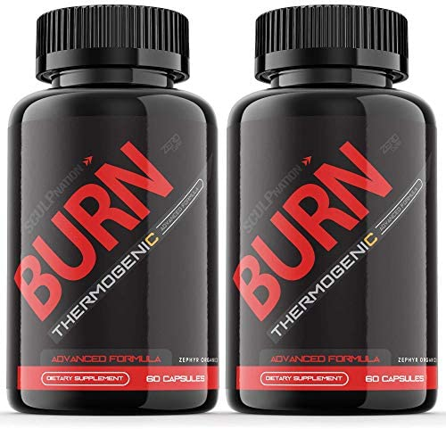 2 Pack Burn Sculpnation Supplement Test Boost Pills Extra Strength Pre Workout Booster PM 120 product image
